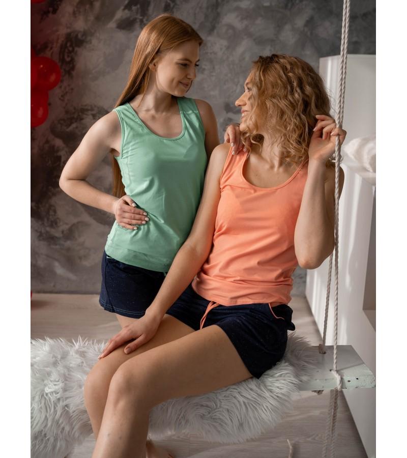 Піжама шорти та майка  у двох кольорах VPL 030