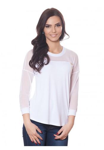 Блуза БЛ 176 білий