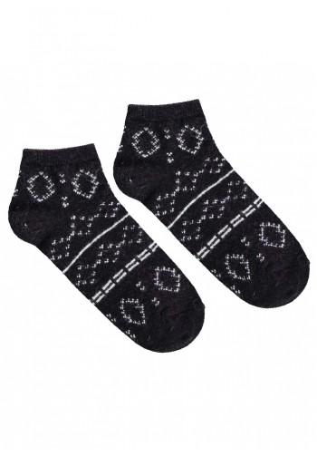 Теплі короткі шкарпетки ANGORA L30